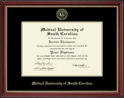 of south carolina diploma frame of south carolina gold embossed diploma frame in