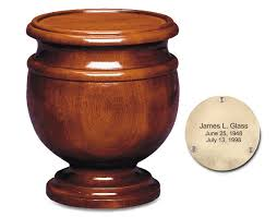 urns for cremation jefferson mahogany wood urn urns for cremation
