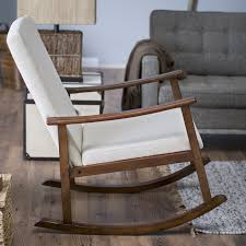 Indoor Rocking Chairs For Sale Belham Living Holden Modern Indoor Rocking Chair Upholstered