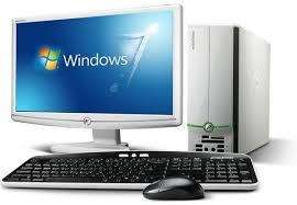 ordinateur bureau windows 7 acer el1332 e202hd lcd unité centrale moniteur 500 go