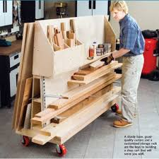 Storage Shelf Wood Plans by 93 Best Workshop Lumber Racks Images On Pinterest Garage