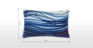 Cushions 50cm X 50cm Made About The House Velvet Cushion 30 X 50cm Ink Blue Made Com