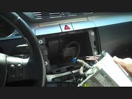 remove a 2008 2011 vw passat cc radio in 4 steps car stereo upgrade