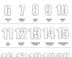 counting numbers 1 to 20 number poster etsy