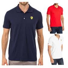 ferrari clothing men puma ferrari polo mens t shirt for 33