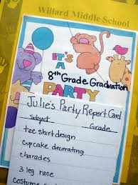 8th grade graduation activity education com