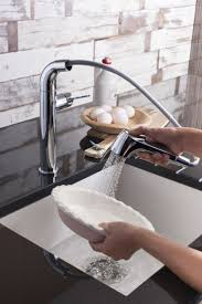 46 best kitchen taps images on pinterest kitchen mixer taps cucina tempo side lever kitchen mixer tap with pull out spray from crosswater http