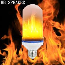 led flame effect fire light bulbs e27 6w led flame effect fire light bulbs flickering emulation