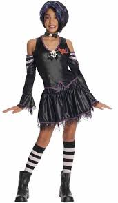 scary girl costumes rubies girl costume orange witch scary merry drama 4 6 8 10