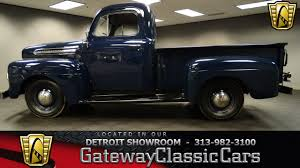 1951 ford f1 96227 miles ford blue pickup 226 cid i6 3 speed