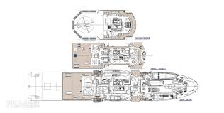 Yacht Floor Plan by M Y Ulysses Motor Yacht For Sale Fraser