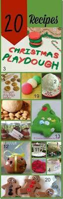 printable playdough recipes christmas playdough mats