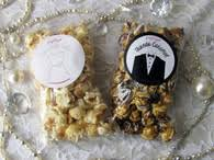popcorn wedding favors wedding party popcorn favors