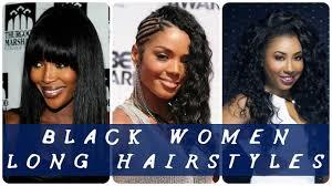 40 best black women long hairstyles youtube
