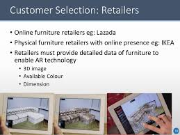 Online Furniture Retailers - augmented reality for furniture shopping