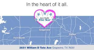 Grapevine Map Hours U0026 Directions To Sam Pack U0027s Five Star Subaru Of Grapevine