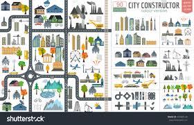 city map city map generator city map exle stock vector 270482129