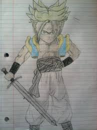 art contest if teen gohan and future trunks had fused to fight
