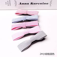 hair clip types 20pcs 10 types korean style bowknot hair bands children hair