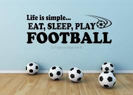 best wall stickers for bedrooms ideas image of football wall stickers for bedrooms