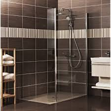 bq high wall square shower tray w760mm d760mm departments