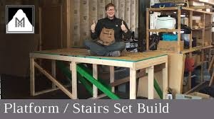 Platform Stairs Design How To Design U0026 Build A Set For The Sound Of Music Youtube