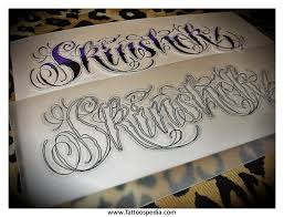 tattoo lettering script calligraphy cursive calligraphy fonts