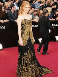 Red Carpet Gowns Sale by Jessica Chastain U0027s Alexander Mcqueen Oscar Gown On Sale For 30k