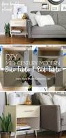 Free End Table Building Plans by Diy Mid Century Modern Side Table Home Made By Carmona