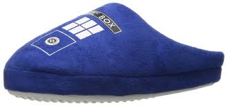Dr Who Bedroom Amazon Com Doctor Who Women U0027s Tardis Slippers Shoes
