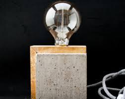 Filament Bulb Desk Lamp Edison Lamp Etsy