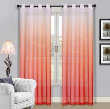 Ombre Window Curtains Beckham Hotel Collection And Coral Curtains Ease Bedding With Style