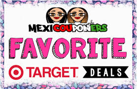 target offering 30 discount on mexicouponers favorite target deals starting 4 30 mexicouponers