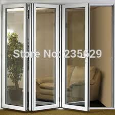 Plastic Exterior Doors Aluminium Bi Folding Exterior Doors Aluminum Folding Door Systems