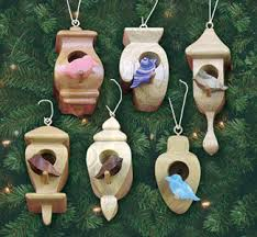 compound cut birdhouse ornaments pattern wood working