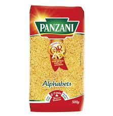 cuisiner les pates pates alphabet panzani pates