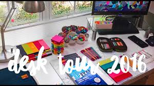 How To Organize My Desk Desk Tour How I Organize My Desk