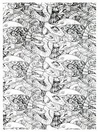 free coloring page coloring adults snakes complex very complex