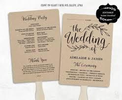 wedding ceremony program template free free printable wedding program templates vastuuonminun