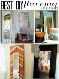 Floor Length Windows Ideas Best Diy Length Floor Mirror Tutorials Child At