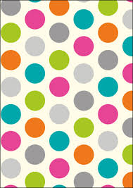 wrapping paper spotty dotty wrapping paper set gift wrapping kates
