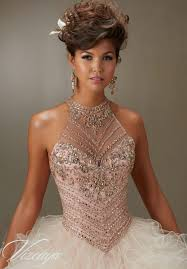 quinceanera dresses for sale jeweled beading on a ruffled tulle quinceanera dress style 89070