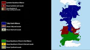 Map Of Kings Landing The War Of The Five Kings Every Day Youtube