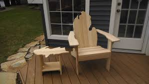 Vintage Adirondack Chairs Michigan Adirondack Chair With Upper Peninsula Side Table