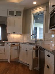Kitchen Cabinet Drawer Construction White Kitchen Cabinets For A Cleaner Look Cabinet Style