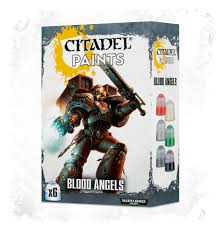 blood angels paint set citadel paint sets