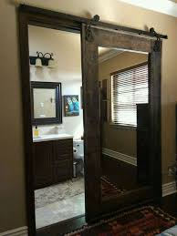 space saving door for the bathroom need to think of pros anc cons