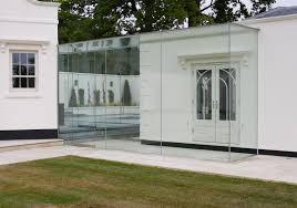 frameless glass stacking doors frameless glass link room by iq glass materials pinterest