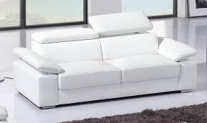 canapé lit blanc canapé convertible 4 places cuir royal sofa idée de canapé et