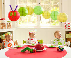 the very hungry caterpillar 1st birthday party theme pottery